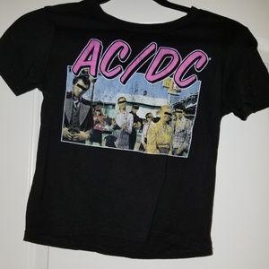 Tops - AC/DC crop top